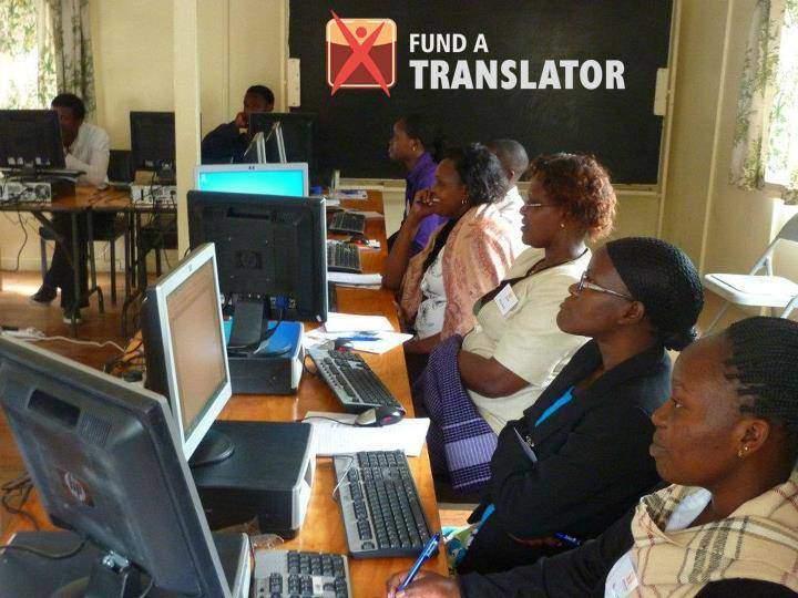 Školiace stredisko prekladateľov v Nairobi (Keňa)