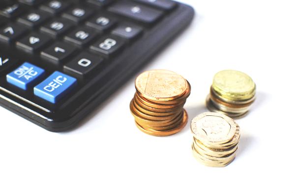 Kalkulačka s mincami