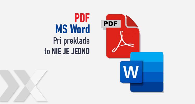 PDF alebo Word súbor