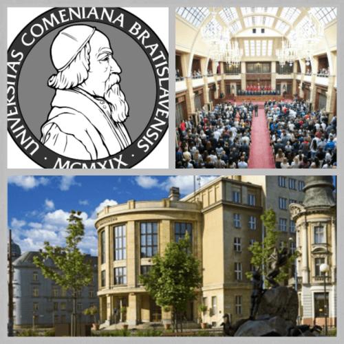Univerzita Komenského aula rektorát