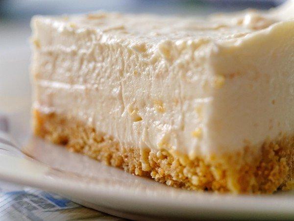 Cheesecake na tanieri