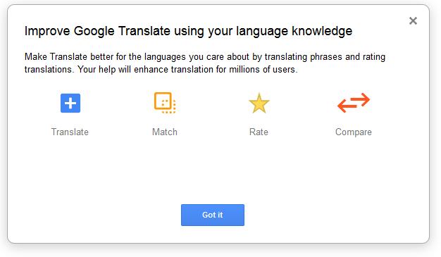 Zlepšite prekladať Google Translate