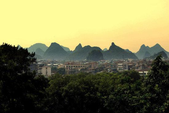 Panoráma mesta Guilin