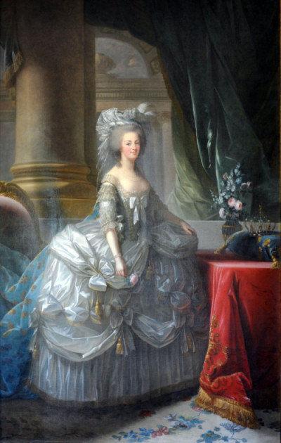 Maria Antoinette par Elisabeth Vigée