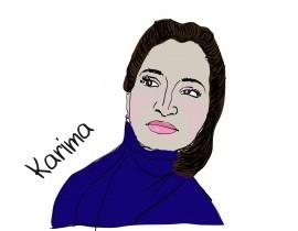 Prekladateľka Karima