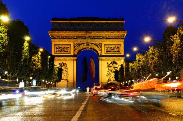 Víťazný oblúk v Paríži