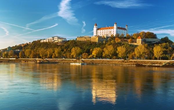 panoráma Bratislavský hrad, Slovensko