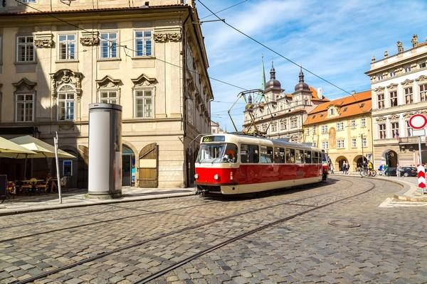 Stará električka, Praha