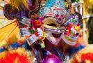 Maska v karnevalovom sprievode