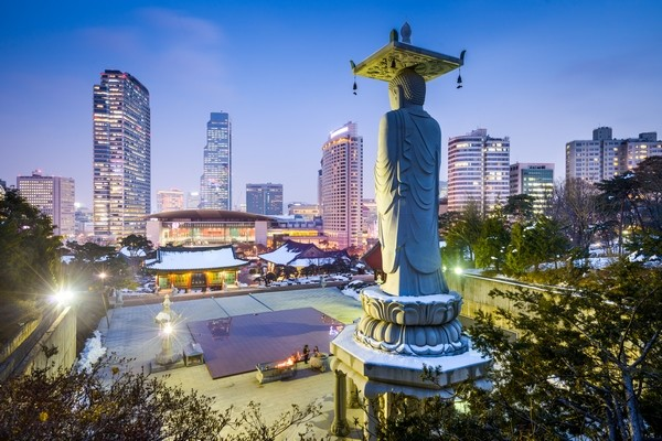 pohľad na mesto Soul