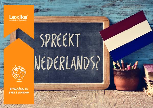 Holandčina a holandská vlajka