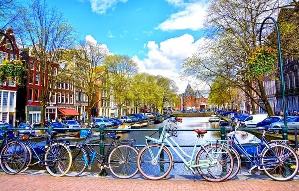 bicykle Amsterdam