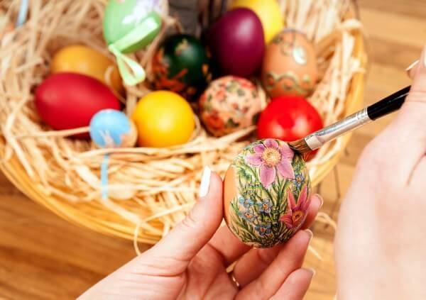 maľovanie-vajíčok