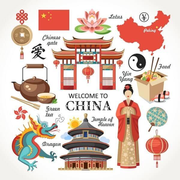 Čína - typické znaky