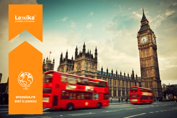 Červené autobusy a Big Ben v Londyne