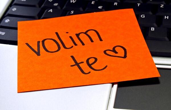 Ľúbim ťa po chorvátsky