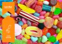 Rôzne farebné gumené cukríky