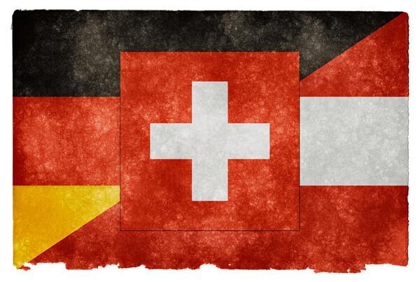 Vlajka Nemecka, Rakúska a Švajčiarska