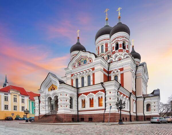 Katedrála Alexandra Nevského v Talline