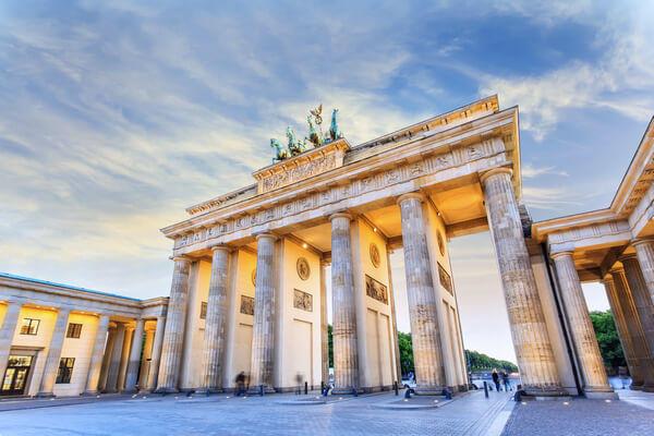 Nemecko Berlín Brandenburská brána