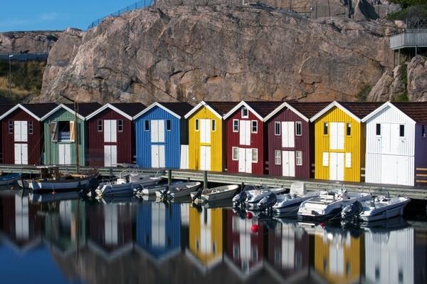 Rybarske domy, Svedsko jazero