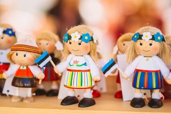 Tradičný estónsky suvenír