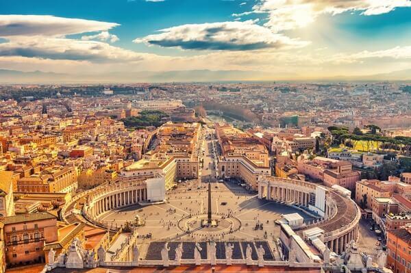Vatikán, námestie sv. Petra