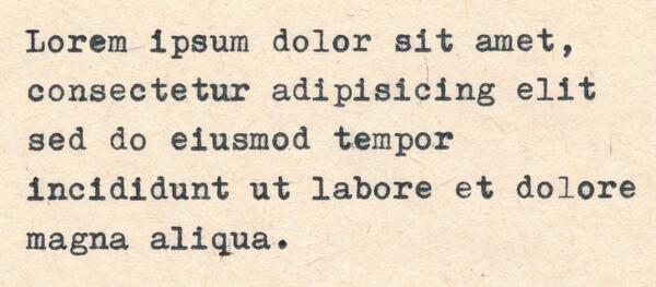 vzorový text Lorem ipsum