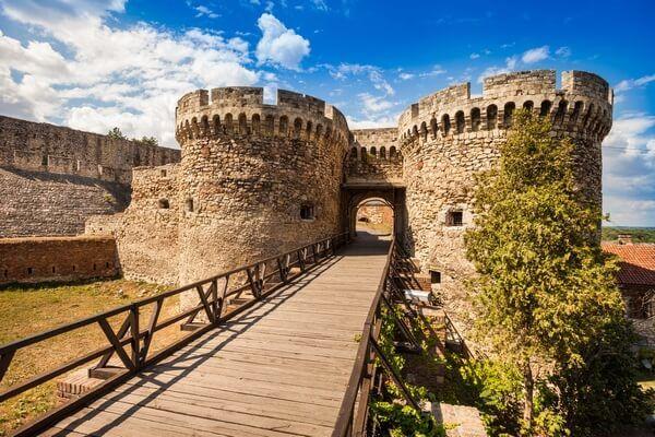 pevnosť Kalemegdan v Srbsku