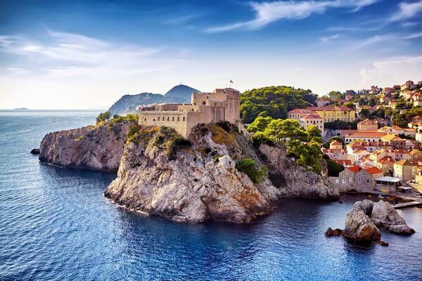 pevnosť Lovrijenac v Dubrovniku