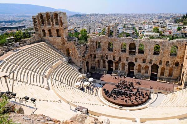 Divadlo v Aténach