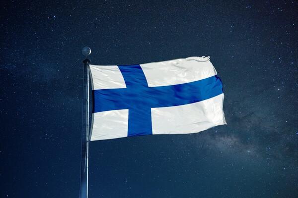 Vlajka Fínska