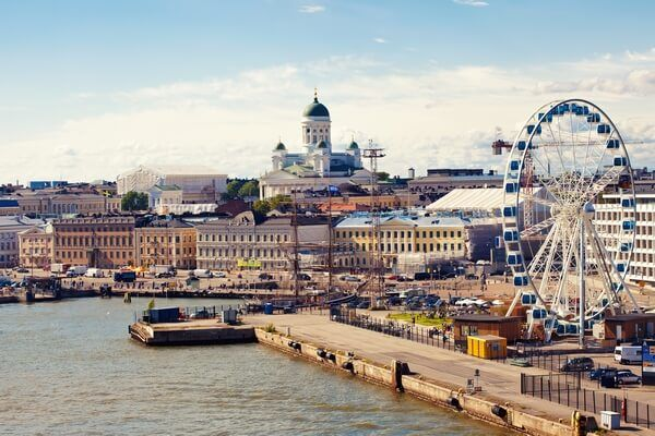 Hlavné mesto Fínska Helsinki