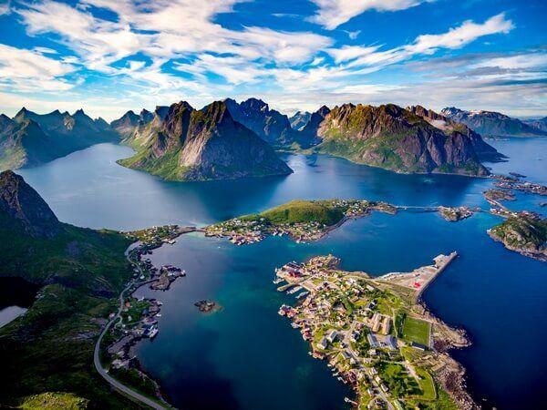 Lofoty v Nórsku
