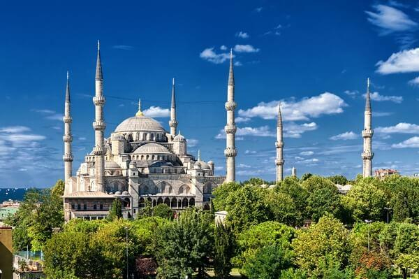 Modra mešita v Istanbule