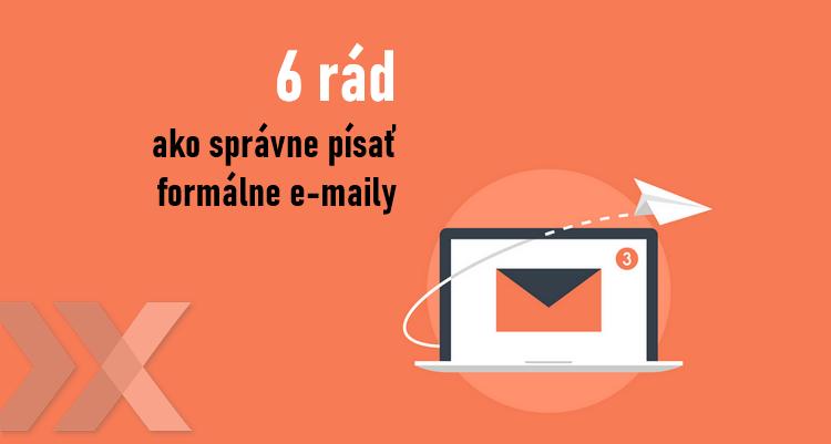 tipy a vzory ako napísať formálny e-mail