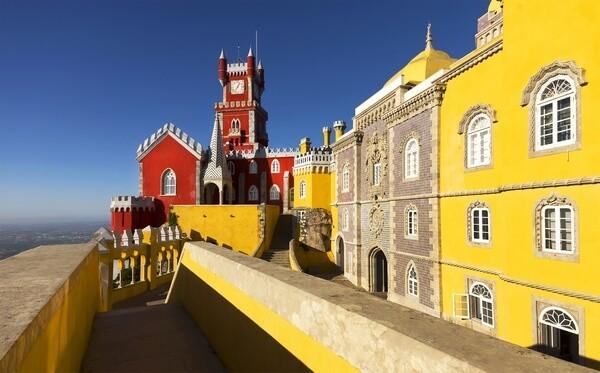 Palác v meste Sintra