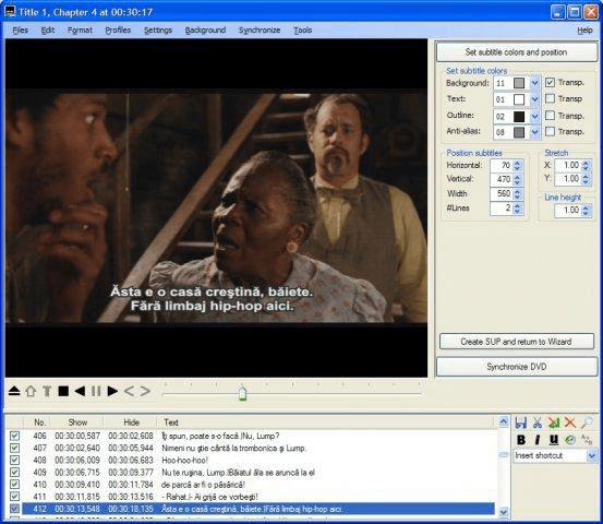 SubtitleCreator screenshot