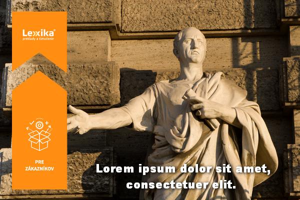 Cicero s titulkami