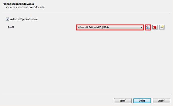 Aegisub_možnosti prekódovanie VLC media player