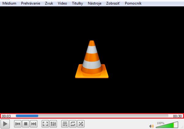 spracovanie videa vo VLC media player