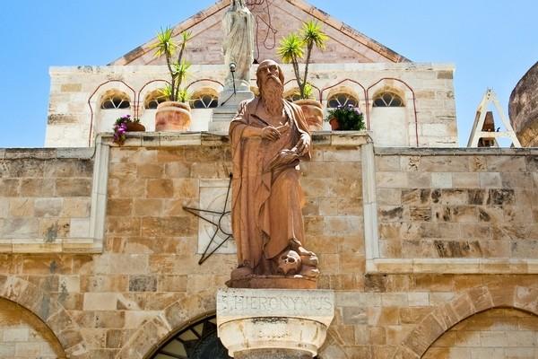 Socha sv Hieronyma – patróna prekladateľov