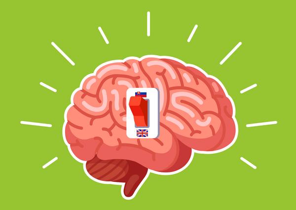 Mozog prepínajúci medzi jazykmi