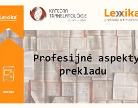 Prednáška pre študentov prekladateľstva_Lexika