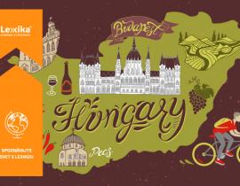 mapa Maďarska s pamiatkami