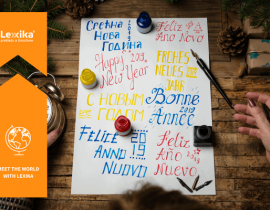 New Year's greetings in foreign languages