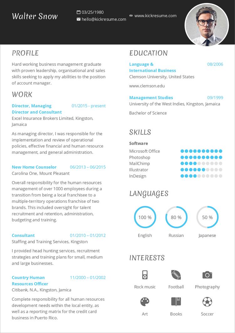 Príklad zaujímavého CV