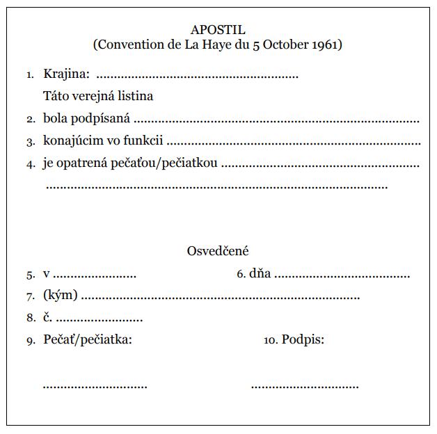 ukážka apostily
