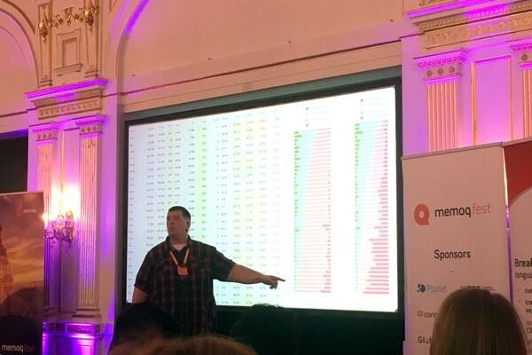 prednáška na memoQfeste / presentation at memoQfest