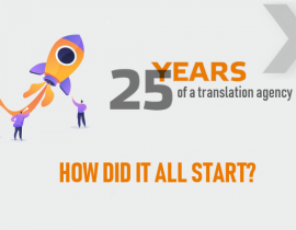 25th anniversary of a translation agency